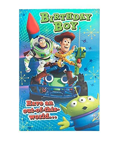 Carte d'anniversaire pour garçon – Carte d'anniversaire Toy Story – Carte d'anniversaire pour garçon