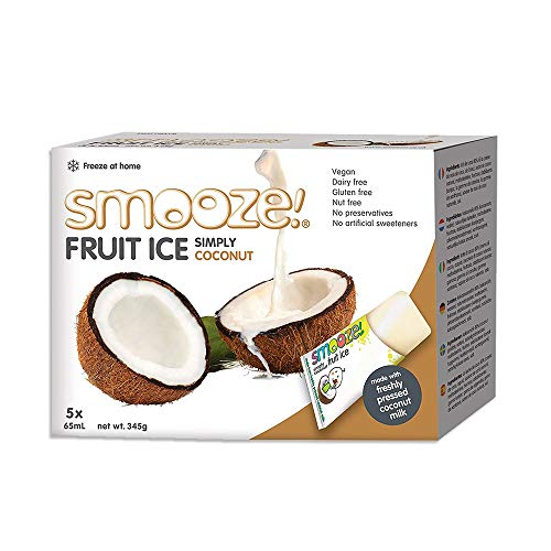 Smooze - Fruit Ice - Simply Coconut - 345g (Case of 6)