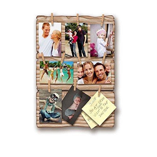 Fotolijst om op te hangen Shabby Ulme Board 35 x 50