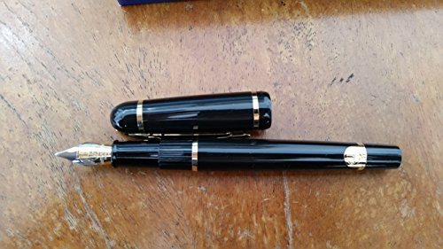 Waterman Phileas Solid Black Medium Point Fountain Pen - 19704W3 by Waterman
