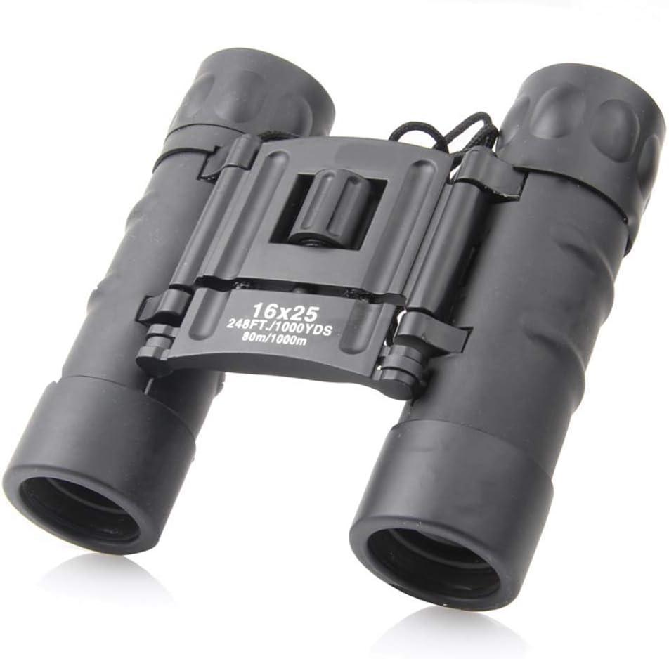 XYSQWZ 16X25 Roof 25% OFF Prism Binoculars Kids for Comp Folding Adults Atlanta Mall