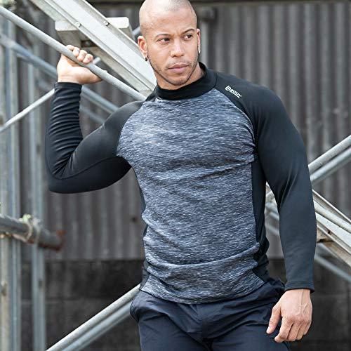 おたふく手袋ボディタフネス『BTヒートブーストヘビーウェイトハイネックシャツ(JW-186)』