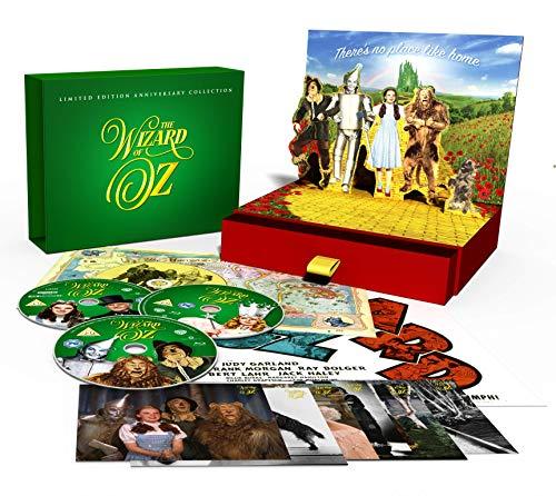 The Wizard Of Oz: Limited Edition Anniversary Collection (4 Blu-Ray) [Edizione: Regno Unito]