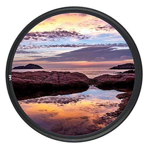 JJC 77mm UV Filter for Canon EOS 6D Mark II 5D Mark IV III with EF 24-105mm or EF 24-70mm f4L Kit Lens for Nikon D750 D780 with AF-S Nikkor 24-120mm f4G Kit Lens & More Lens with 77mm Filter Thread