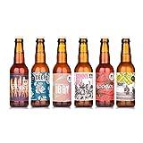 Birra Arcadia - Box degustazione o regalo di 6 birre artigianali italiane produzione locale da 33cl stile IPA, double IPA, Red Ale, Blond Ale