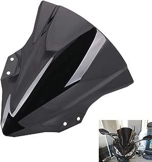 Motorcycle Windscreen Windshield Double Bubble For Kawasaki Ninja 400 2018-2019