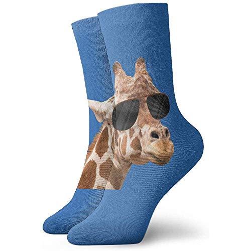 Femmes Hipster Giraffe Athletic Socks Moisture Control Thermal Socks