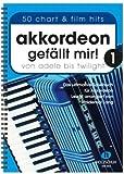 Acordeón gefällt mir Band 1 – El libro de juego definitivo para acordeón de Adele a Twilight – 50 éxitos ligeramente arreglados – Edición en encuadernación de anillas (partituras)