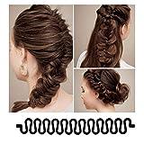 Zoom IMG-2 yikimira 3 pezzi capelli chignon