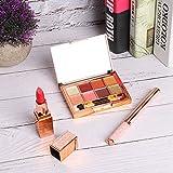 Apropiado Maquillaje Conjuntos, Maquillaje Kits Mate Lápiz labial Color Maquillaje Efecto De confianza Delineador de ojos con Mineral por Mujeres