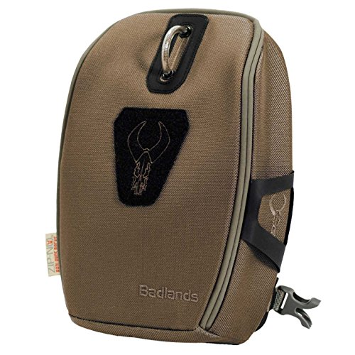 Badlands Mag Bino Case (Serengeti Brown) with Backpack-Friendly Harness, Protects Hunting Binoculars