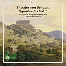 Schacht: Symphonies by Evergreen Symphony Orchestra (2014-05-04)
