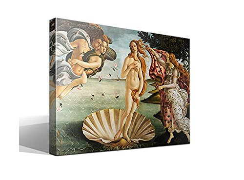 Cuadro Canvas El Nacimiento de Venus de Botticelli, Sandro - 55cm x 75cm