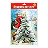 Trötsch Adventskalender Weihnachtsbaum Adventskalender mit Türchen: Weihnachtskalender Bildkalender Türchenkalender