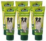 Dehner Hundesnack, Lachscreme in Lebensmittelqualität, 6 x 75 g (450 g)