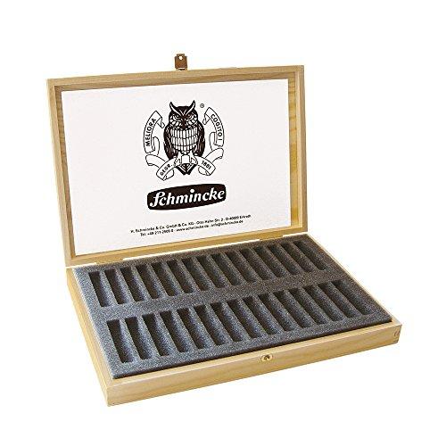 Schmincke 77930097 Boîte à pastels vide en bois pouvant contenir 30 pastels, 1 pièce
