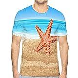 Herren Big & Tall Schrumpffreies leichtes T-Shirt mit Rundhalsausschnittsta T-Shirt mit Rundhalsausschnitt