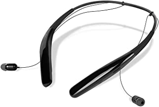 BCS-100 | Wireless Bluetooth Headphones, Durable Neckband Type, Ultra Lightweight,14H Playtime, Sweat & Splash Resistant for Home Office, Conference Call (Black)