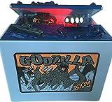 BABOOK- Electronic Godzilla Piggy Bank Monster Money Saving Box Coin Bank Funny Kids' Money Banks for Children