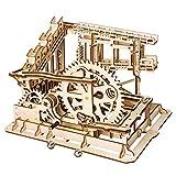 Puzzle de madera 3D de mármol Run Sets-Asamblea de pistas mágicas DIY Juguetes Fantástico Modelo Regalos de cumpleaños