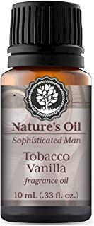 Tobacco Vanilla Fragrance Oil Mens 10ml for Cologne, Diffuser Oils, Making Soap, Candles, Lotion, Home Scents, Linen Spray and Lotion