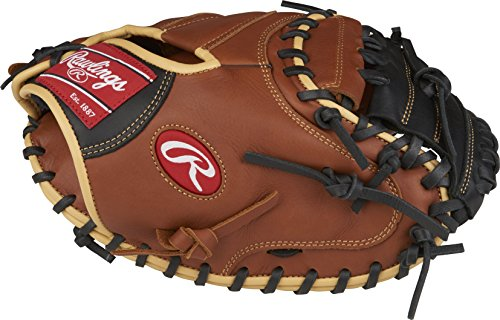 Rawlings Sandlot Series Leather Catcher's Mitt (1 Piece), 33