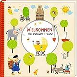 Babyalbum - Willkommen!: Dein erstes Jahr in Münster