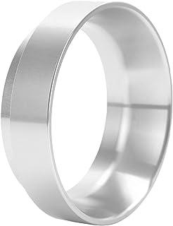Perfk 58mm Dia. Aluminum Coffee Dosing Portafilter Dosage Funnel - Silver, 58mm