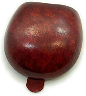 TACCO - Monedero de cuero artesanal hecho a mano en Italia, sin costuras, modelado en forma de madera, GF89 - Giuseppe Fan...