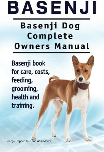 Basenji Basenji Dog Complete Owners Manual Basenji book for care costs feeding grooming health product image