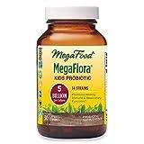 MegaFood, Kids N' Us MegaFlora, Probiotic Supplement for Children with 5 Billion CFU, 30 Capsules