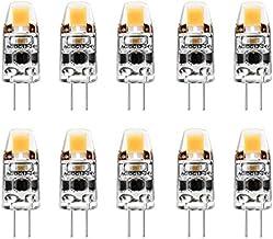 Haudang G4-lamp 2W G4 LED-lamp komt overeen met 20W G4 halogeenlamp reserveonderdeel, G4-fitting wisselstroom/DC12V-24V, W...