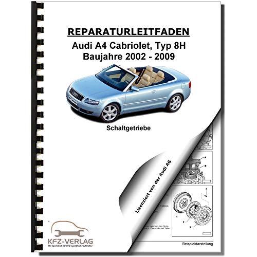Audi A4 Cabriolet (02-09) 6 Gang Schaltgetriebe 01E Kupplung Reparaturanleitung