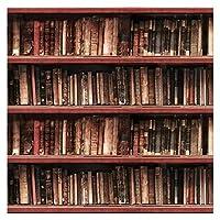 Shuhao. 古い木製本棚ブックの図書館研究子供のポートレート写真の背景の写真の背景 (Color : 06824, Size : Thin Cloth 250x250cm)