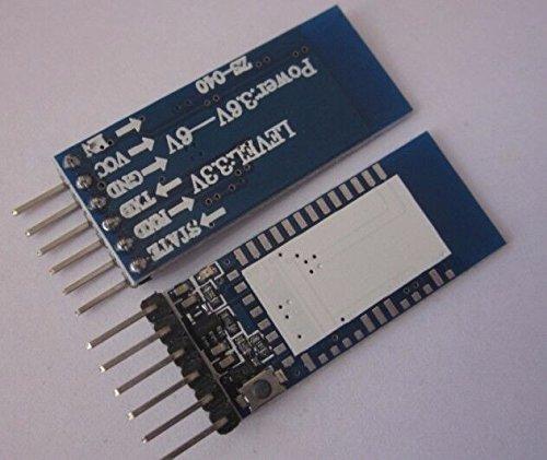 HER Modulo di ricetrasmettitore seriale Bluetooth per HC-06 HC-07 HC-05 per Arduino con tasti chiari