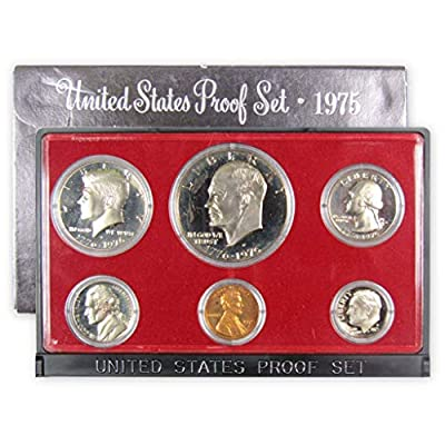1975 S Proof set Collection Uncirculated US Mint