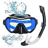 Lychee Snorkel Set,Gafas de Buceo para Adultos y Jóvenes-Máscara de...