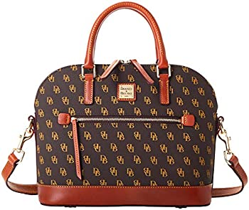 Dooney & Bourke Domed Zip Satchel Handbag