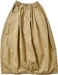 (ハーベスティ)HARVESTY コットンチノクロスサーカススカート a21906