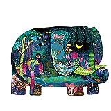 ZCBYBT 280 Puzzle di Contorno di Elefante, intelligenza per Lo Sviluppo di Giocattoli educativi per Bambini nella Prima Infanzia