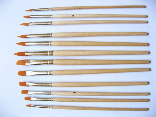Grace Art Water Color Brush Set WS12 by Grace Art