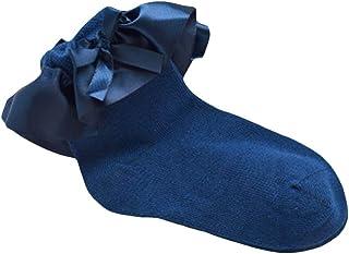 Bodhi200, Bodhi2000 - Calcetines tobilleros para bebé recién nacido, con volados y lazo