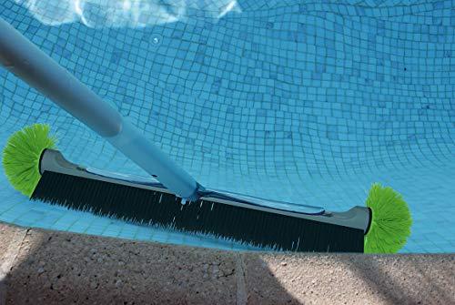 Kerlis vloerwisser met dubbele bollen, 57 cm, zwart, 57 cm