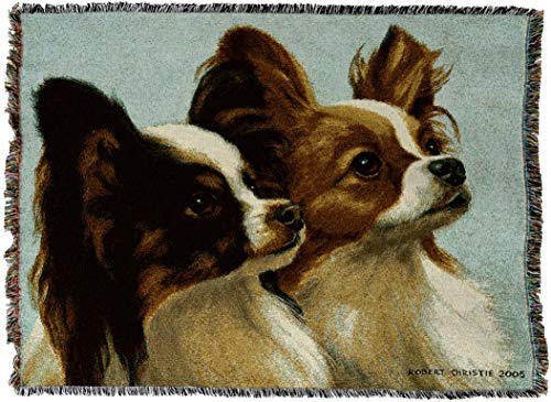 Pure Country 3308-T Deux Papillon Pet Blanket, Various Blended Colorways, 53 by 70-Inch
