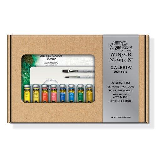 Winsor & Newton Galeria-Lote de pinturas acrílicas