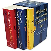 Websters New Essential Reference Three-Book Desk Set Paperback [並行輸入品]