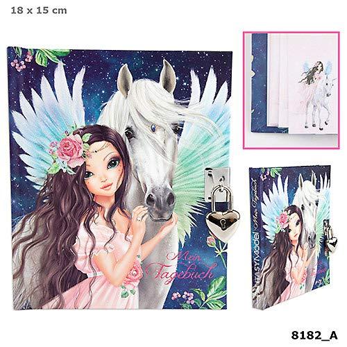 Fantasy Model Tagebuch mit Schloss Motiv 2, Pegasus Depesche Biz TOP Model