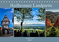Heilbronner Landpartie (Tischkalender 2022 DIN A5 quer): 12 grossartige Bilder aus dem Heilbronner Land, die zu einer Landpartie einladen (Monatskalender, 14 Seiten )