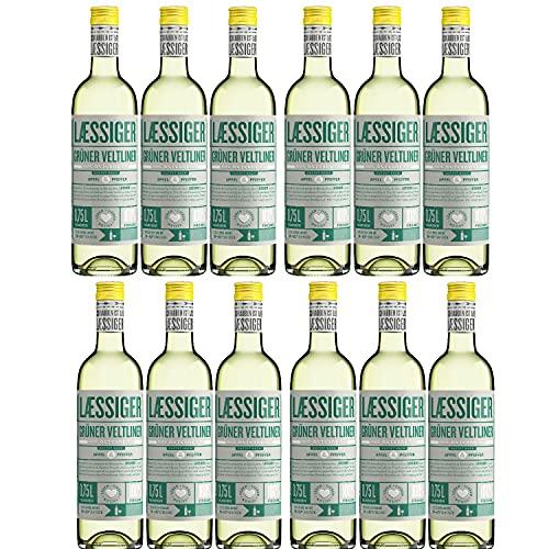 Laessiger Grüner Veltliner Weißwein Wein trocken Österreich (12 Flaschen)