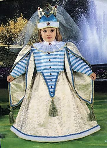 RIO Kostüm Prinzessin Kirby 2/3 Jahre Größe 01 (76 cm Höhe Schulter/Erde)